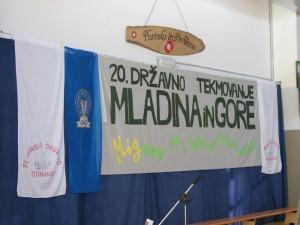 20. državno tekmovanje Mladina in gore Podnanos 2009