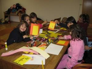 Izdelava voščilnic 2007
