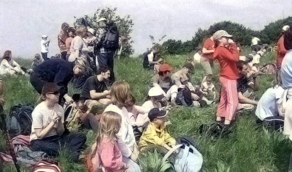 Srečanje mladih planincev na Vremščici