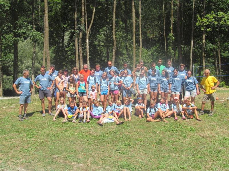 Ekipa tabora Železniki 2013